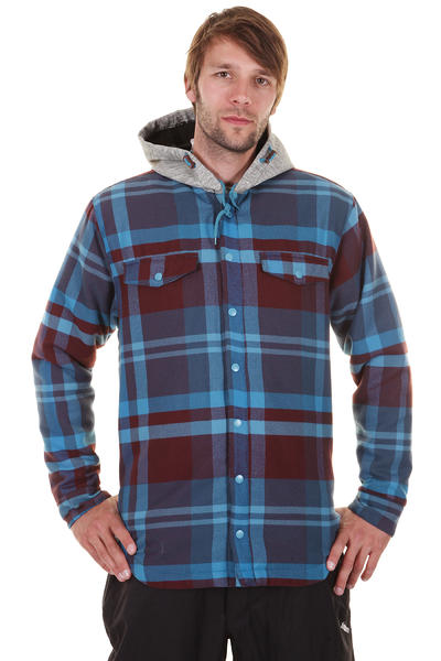 Quiksilver Dock Snowboard Jacke (check mountain blue)