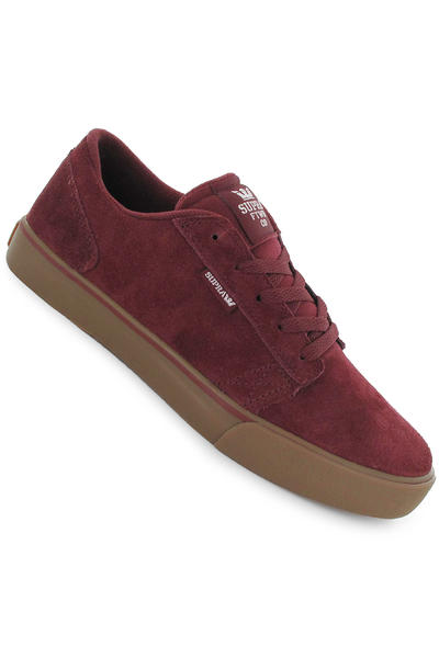 Supra Amigo Suede Schuh (burgundy white)