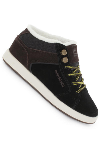 Quiksilver Little Area 4 Slim Mid Shoe kids (black brown off white)