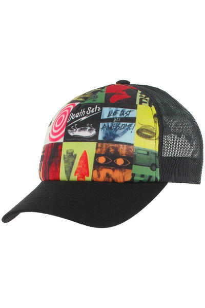 Quiksilver Manchebo Trucker Cap (black)