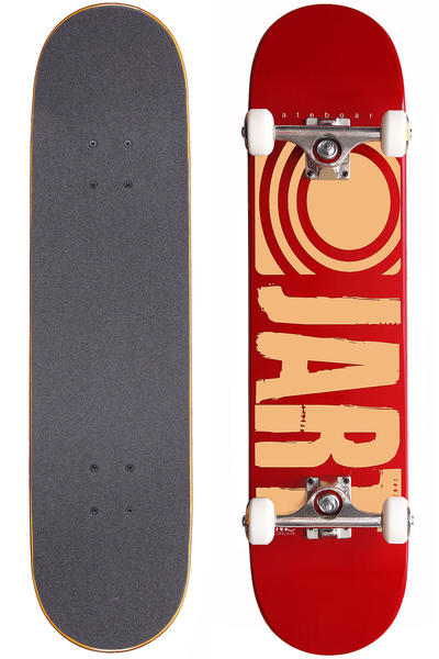 "Jart Skateboards Logo Basic SP12 7.5"" Complete-Board (red)"