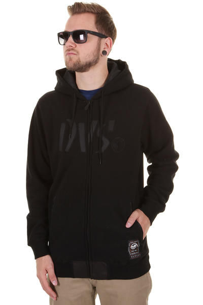 DVS Charred Zip-Hoodie (black)