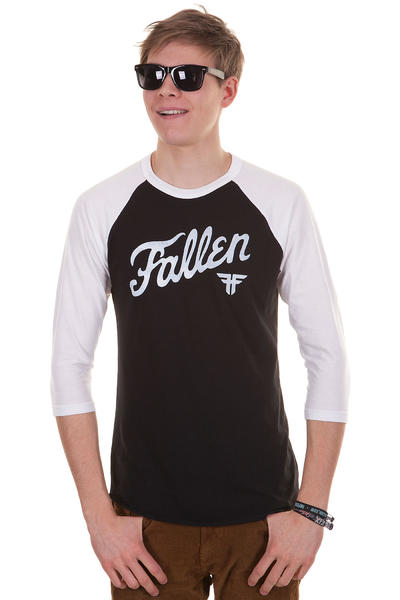 Fallen Fury 3/4 Longsleeve (black white)