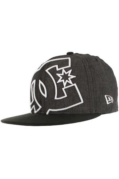DC Coverage 2 59Fifty Cap (black white silver)