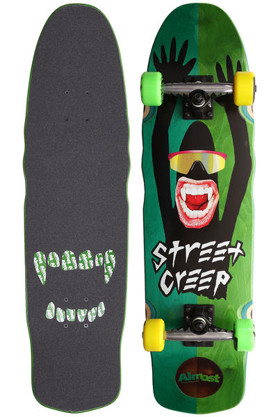 "Almost Street Creep 7.9"" Cruiser (green)"