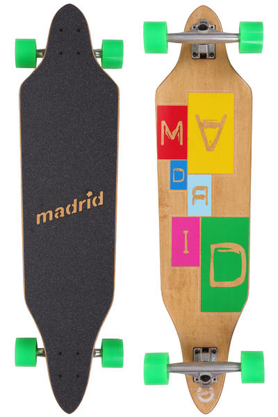 Madrid Creep Typewriter-Standard 38&quot; (96,5cm) Komplett-Longboard