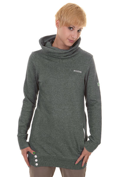 Mazine Long Sweatshirt girls (dark sparkle)