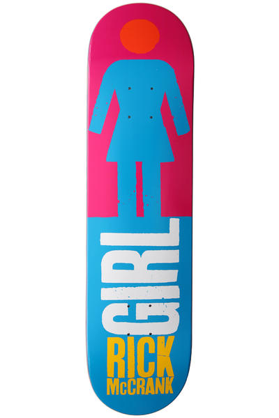 Girl McCrank Big Girl Real Big 8&quot; Deck (light blue)