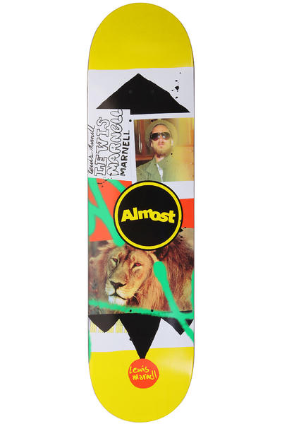 Almost Marnell Circle Collage 8&quot; Deck (yellow)