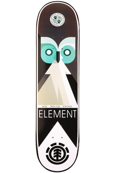 "Element Luma Nature Owl 8.125"" Deck (multi)"