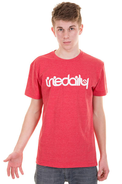 Iriedaily No Matter 4 T-Shirt (red melange)