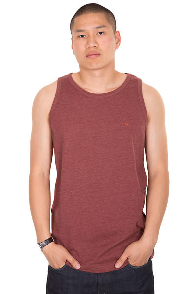 Cleptomanicx Ligull Tank-Top (heather dried tomato)