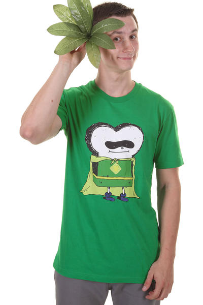 Cleptomanicx Hulk Toast T-Shirt (jolly green)