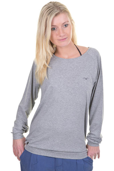 Cleptomanicx Lodato Melange Longsleeve girls (heather grey)
