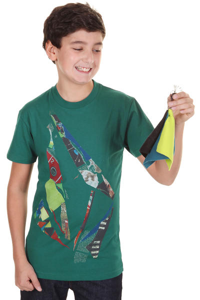 Volcom Scrapstone T-Shirt kids (strobe green)