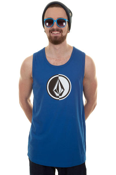 Volcom Circle Stone Tank-Top (marine blue)