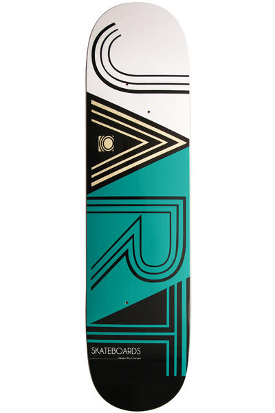 "Jart Skateboards Club Logo 7.875"" Deck (black turquoise)"