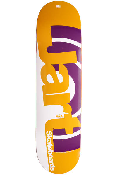 "Jart Skateboards Duo III Logo 8.125"" Deck (yellow purple)"