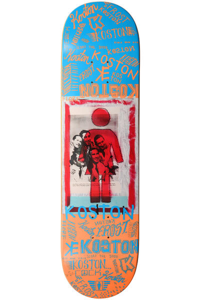 Girl Koston Recovery 8.25&quot; Deck (orange blue)