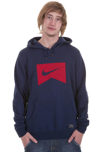 Nike Northrup Icon Hoodie (midnight navy gym red)