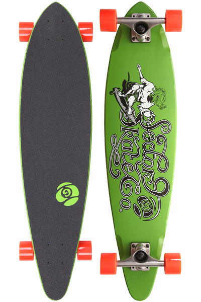 "Sector 9 The Express 34.5"" (87,5cm) Komplett-Longboard (green)"