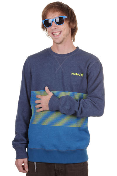 Hurley Block Sweatshirt (heather legacy navy)