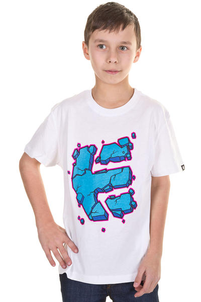 Etnies Nice Shot T-Shirt kids (white)