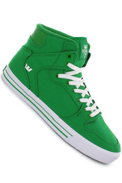 Supra Vaider Canvas Schuh (green white)