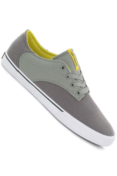 Supra Pistol Canvas Schuh (charcoal grey yellow white)