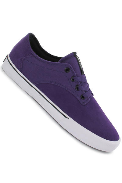 Supra Pistol Suede Schuh (purple white)