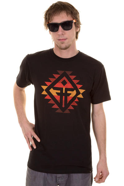 Fallen Yuma T-Shirt (black red)