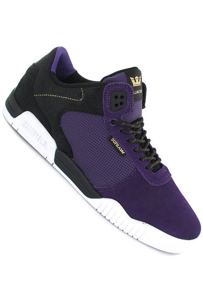 Supra Ellington Suede Schuh (black purple white)