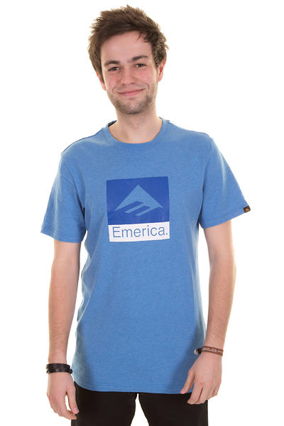 Emerica Combo 10 T-Shirt (blue heather)
