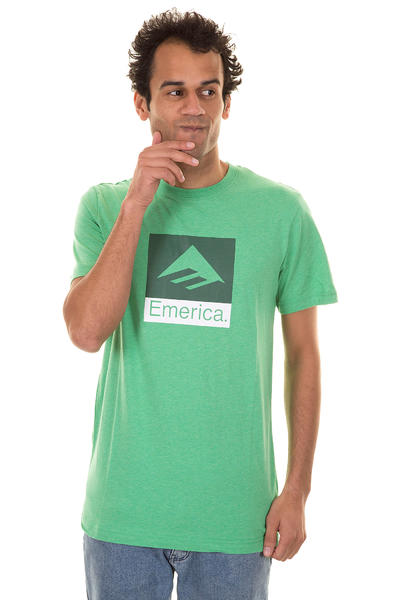 Emerica Combo 10 T-Shirt (green heather)