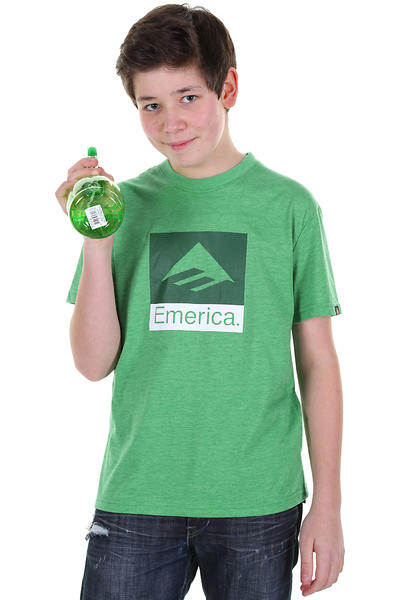 Emerica Combo T-Shirt kids (green heather)