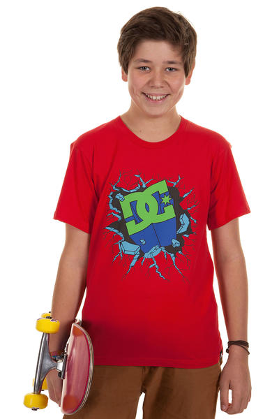DC Adult Crash T-Shirt kids (athletic red)