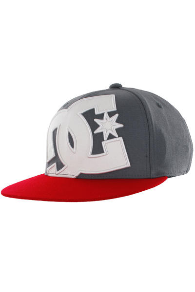 DC Ya Heard 2 FlexFit 210 Cap (white grey red)