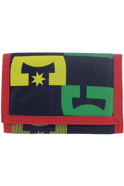 DC Right Back Wallet (rasta)
