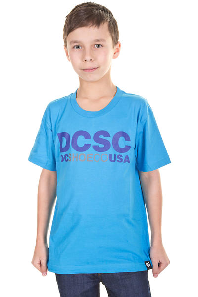 DC DCSC T-Shirt kids (bright blue)