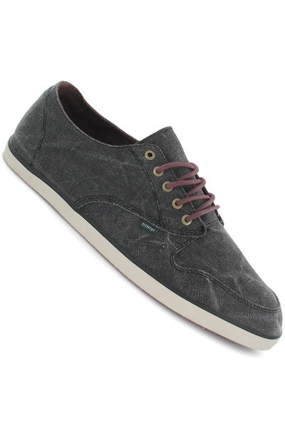 Element Bowery Canvas Schuh (black washed)