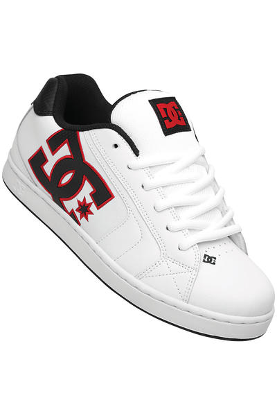 DC Net Schuh (white athletic red black)