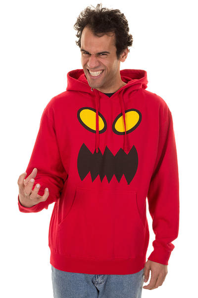 Toy Machine Monster Face Hoodie (red)