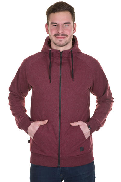Forvert Ginsberg Zip-Hoodie (red)