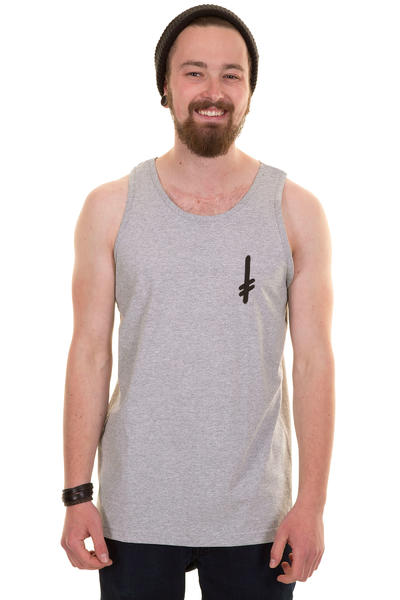 Deathwish Gang Logo Tank-Top (grey)