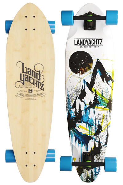 Landyachtz Bamboo Stout Mountains 36&quot; (91,5cm) Komplett-Longboard