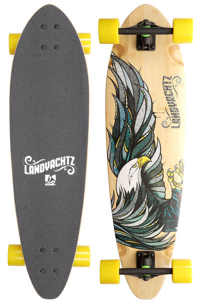 Landyachtz Bamboo Stout Eagle 36&quot; (91,5cm) Komplett-Longboard