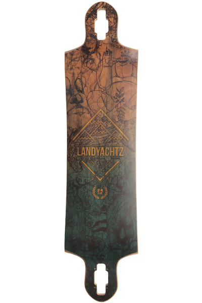 Landyachtz Switchblade 40 SP13 40.5&quot; (103cm) Longboard Deck (blue)