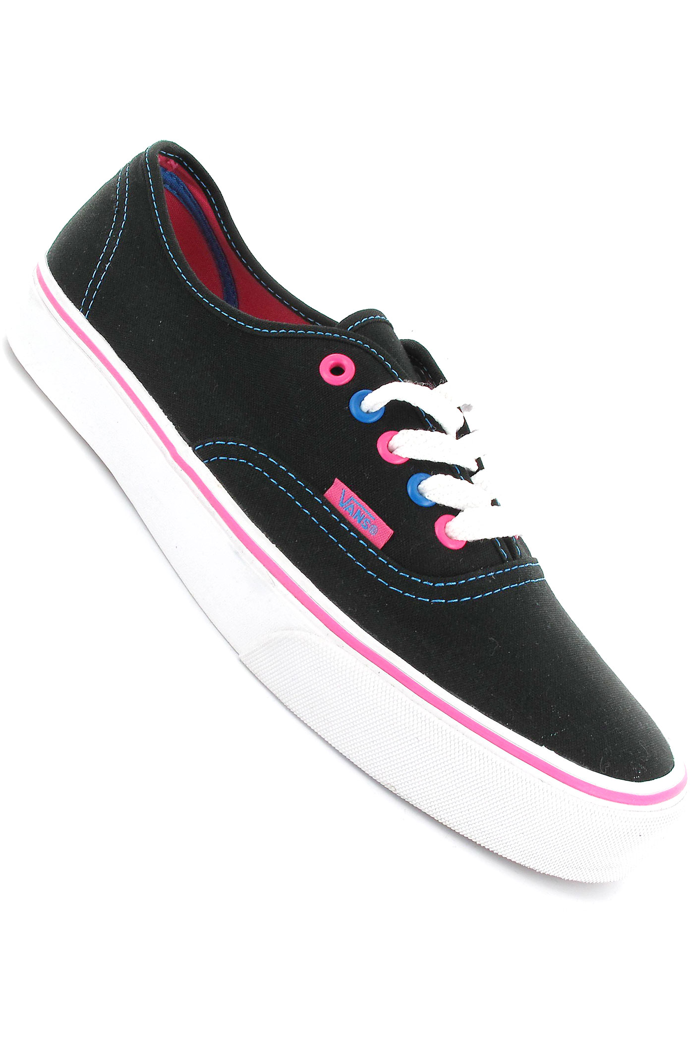 Vans Shoes For Girls Blue And Black