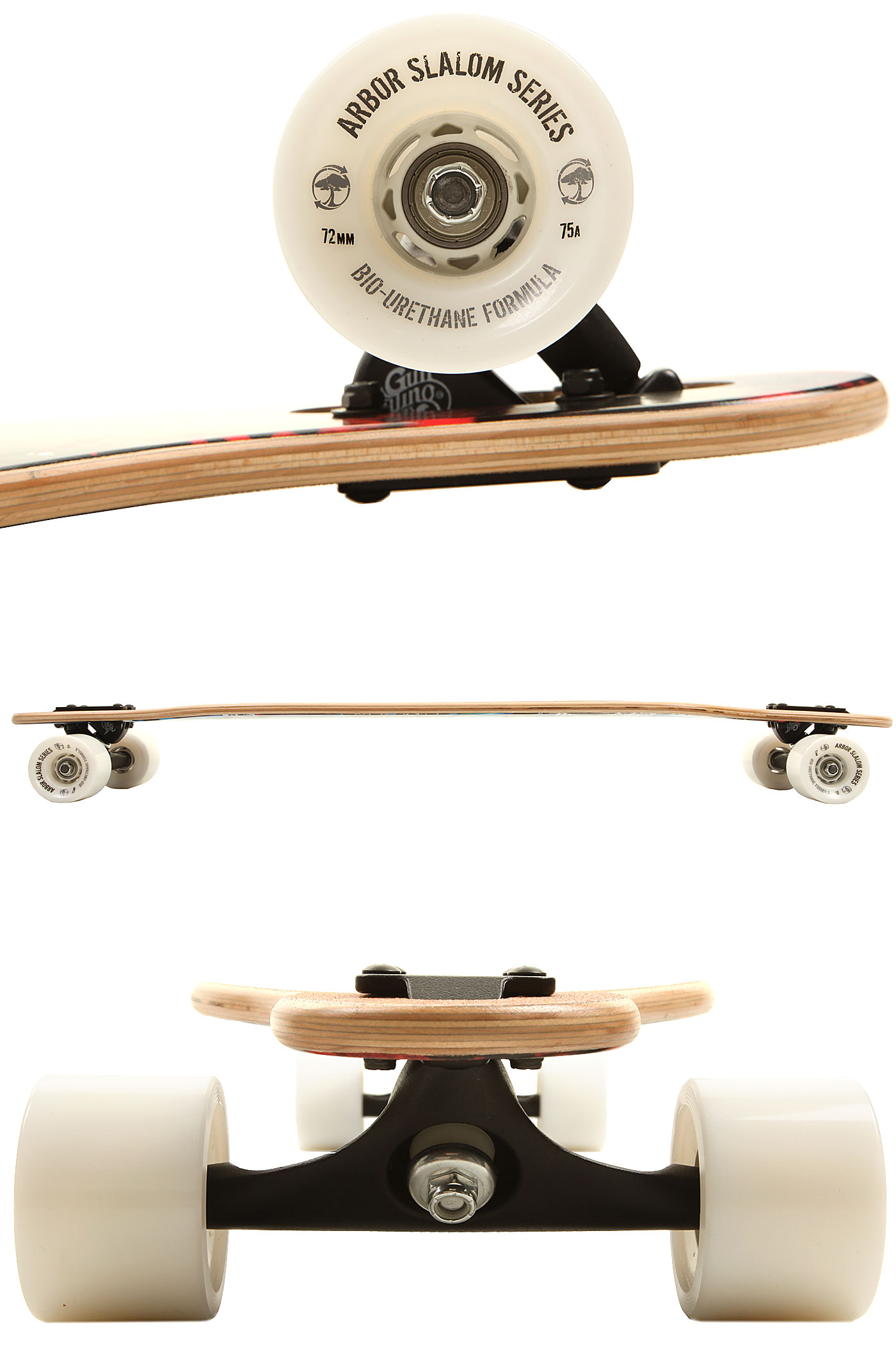 Home Page Skateboarding Longboards Complete Longboards Arbor Axis Koa ...