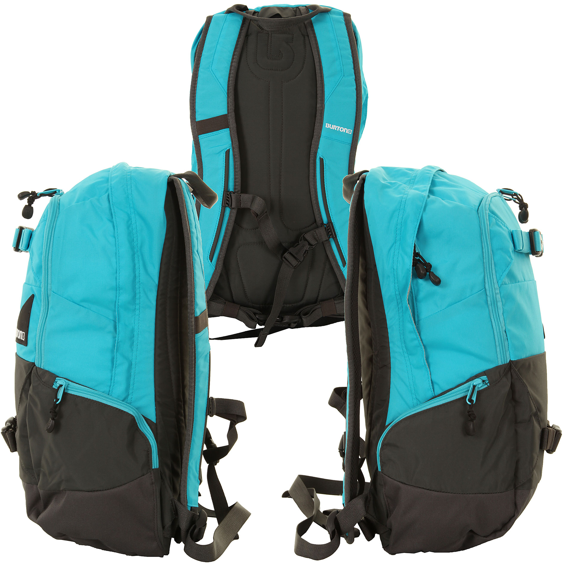 pin burton day hiker rucksack electro blue kaufen bei. Black Bedroom Furniture Sets. Home Design Ideas